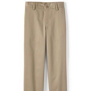 Lands' End Boys Plain Front Chino Pants